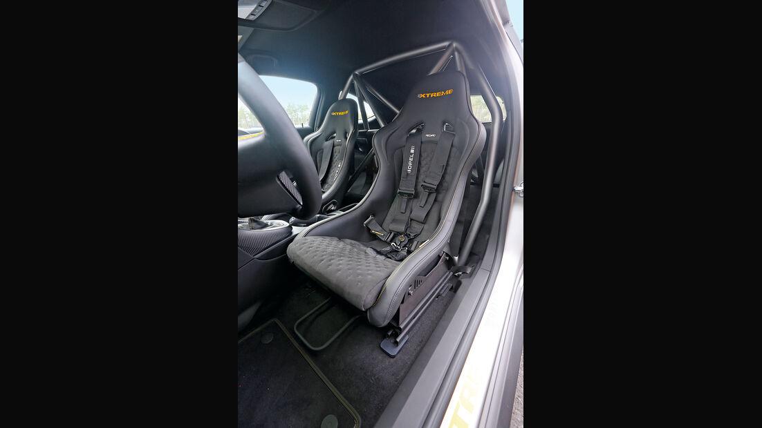 Opel Astra OPC Extreme, Fahrersitz, Sportsitz