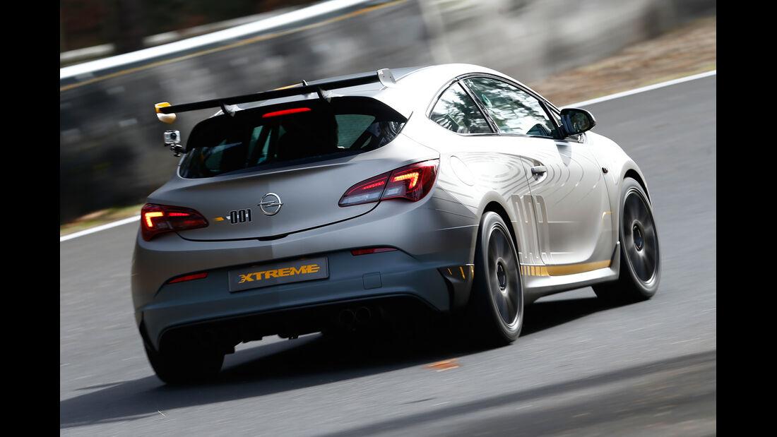 Opel Astra OPC Extreme, Heckansicht