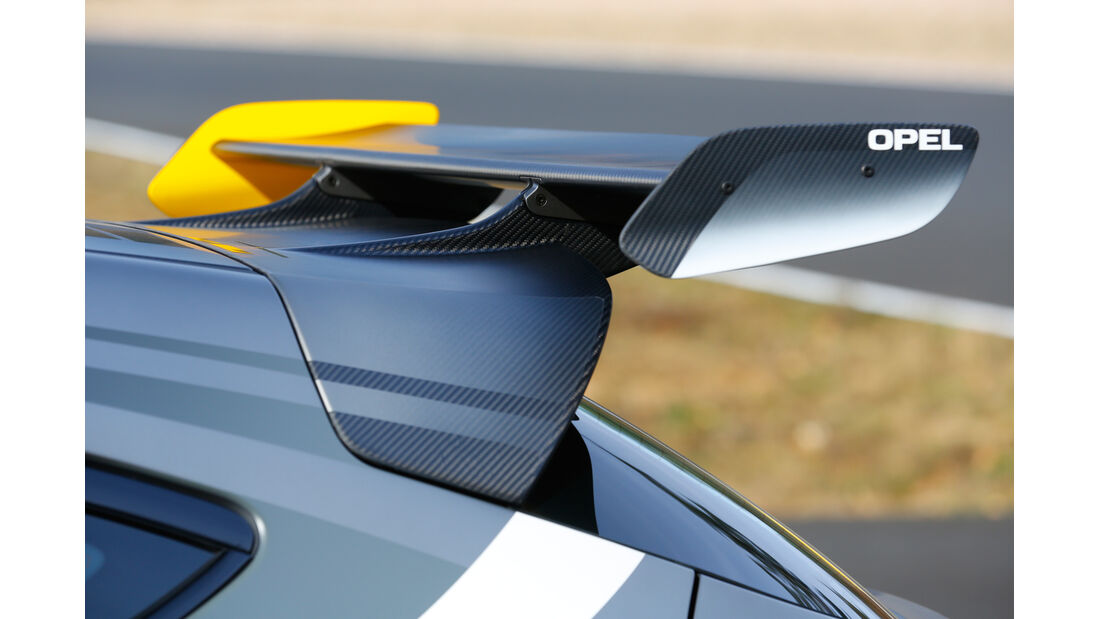 Opel Astra OPC Extreme, Heckspoiler, Heckflügel