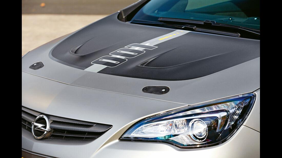 Opel Astra OPC Extreme, Motorhaube