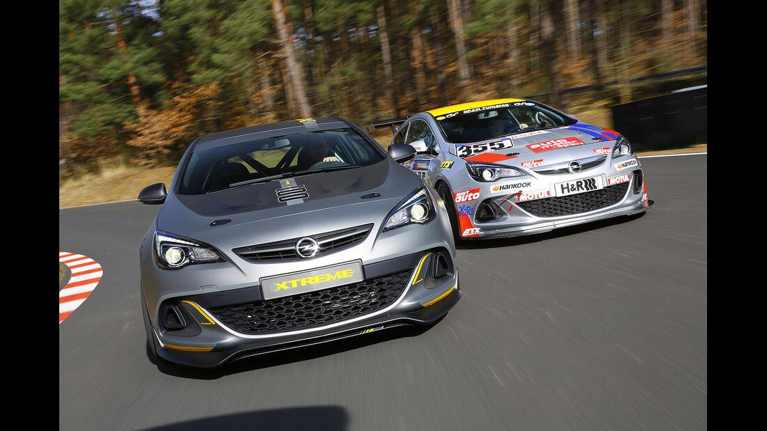 Opel Astra OPC Extreme, Opel Astra OPC Cup, Vergleich, spa 04/2014, Heftvorschau