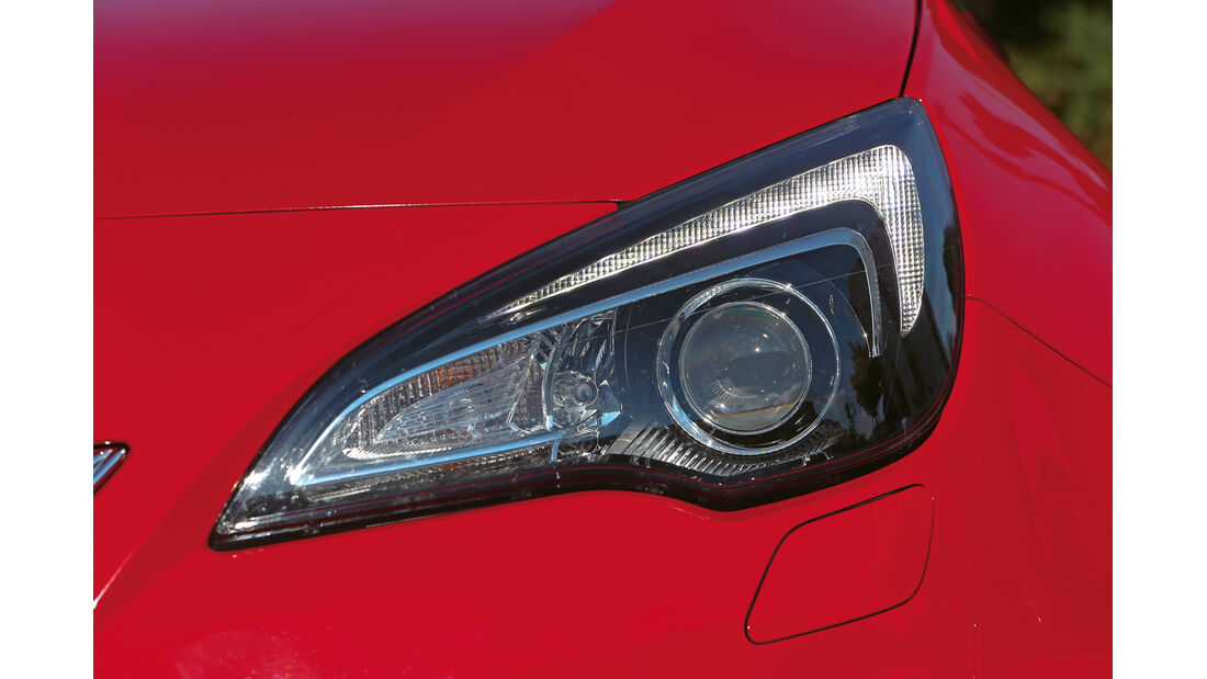 Opel Astra OPC, Frontscheinwerfer