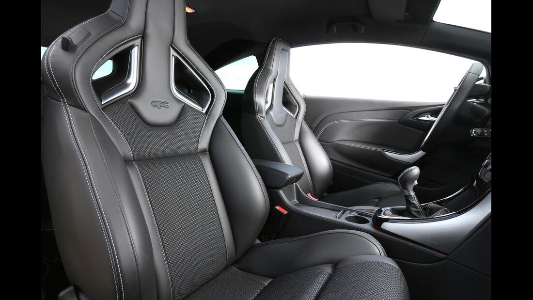 Opel Astra OPC, Frontsitze