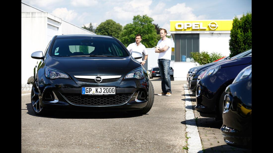 Opel Astra OPC, Händler