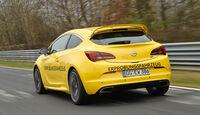 Opel Astra OPC, Heck