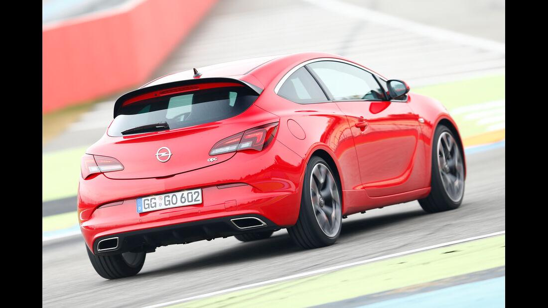 Opel Astra OPC, Heckansicht