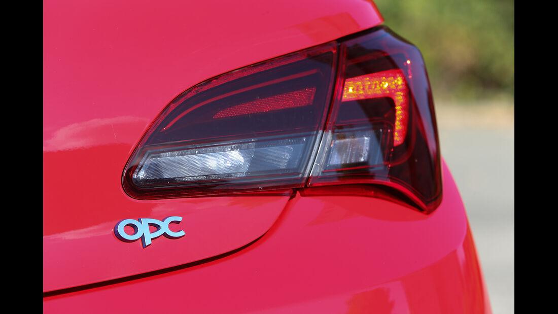 Opel Astra OPC, Heckleuchte, Typenbezeichnung