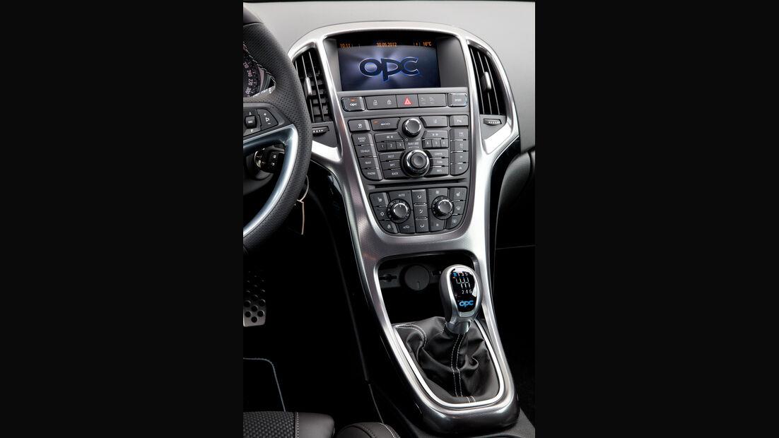Opel Astra OPC, Mittelkonsole