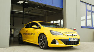 Opel Astra OPC, Motorhaube, Frontpartie