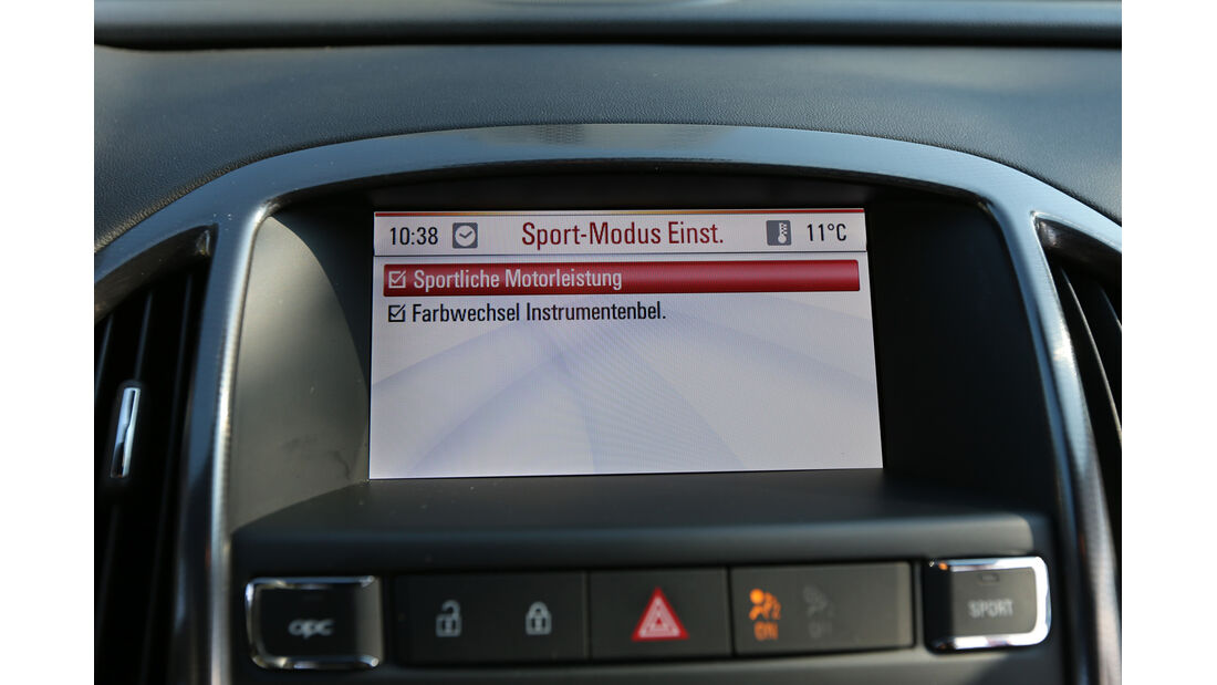 Opel Astra OPC, Navi, Monitor