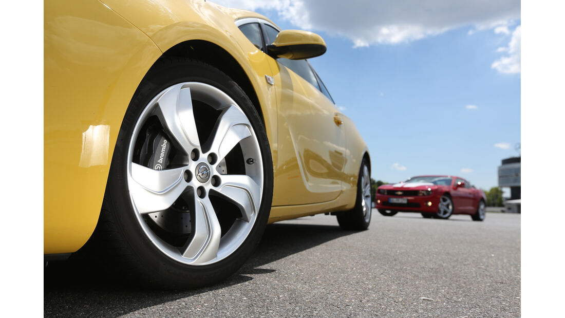 Opel Astra OPC, Rad, Felge