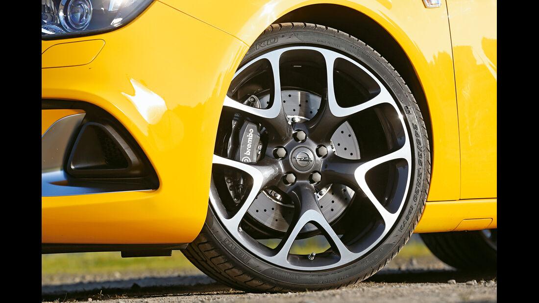Opel Astra OPC, Rad, Felge, Bremse