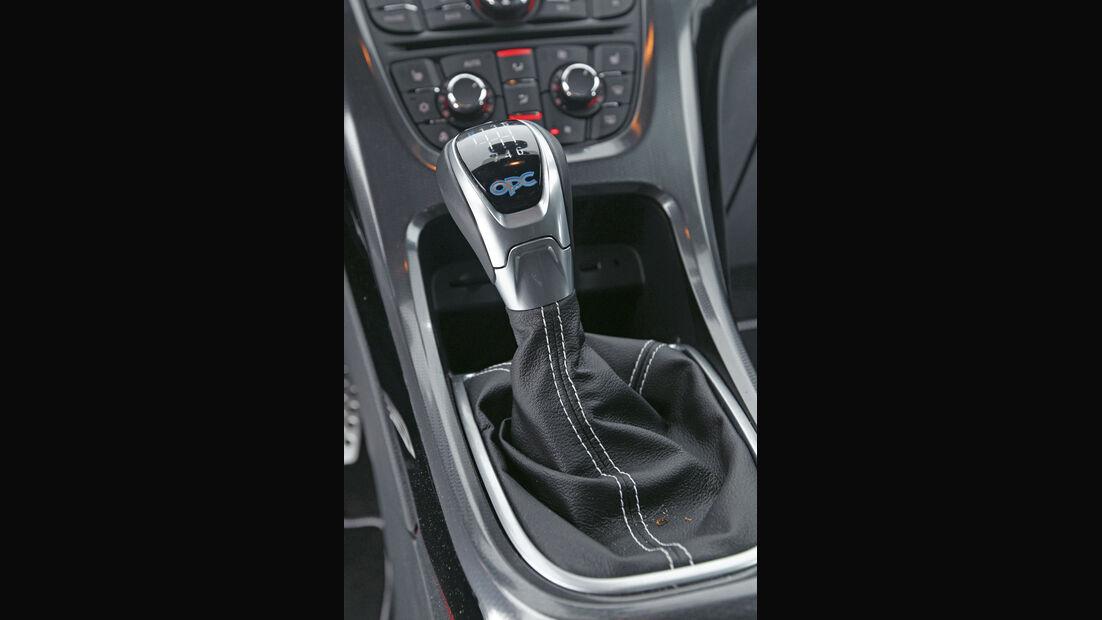 Opel Astra OPC, Schalthebel, Schaltknauf
