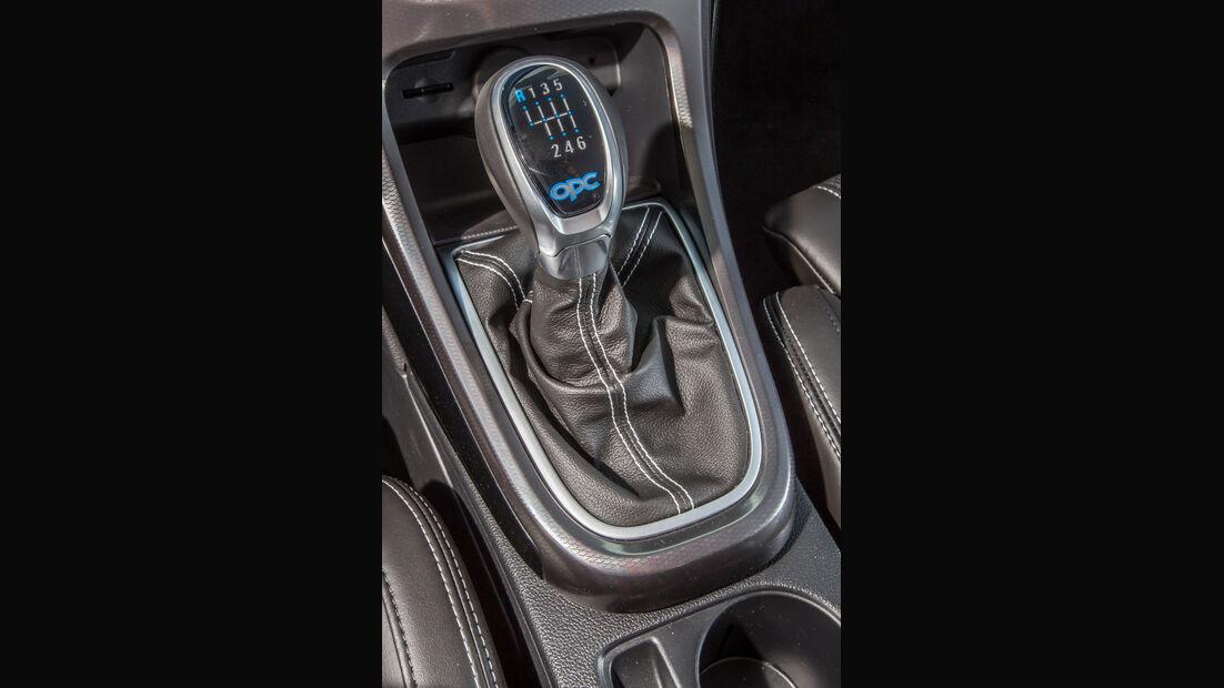 Opel Astra OPC, Schaltung, Schalthebel