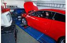 Opel Astra OPC, Seitenansicht, Hebebühne