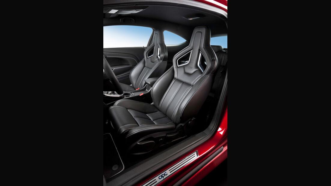 Opel Astra OPC, Sitz, Fahrersitz