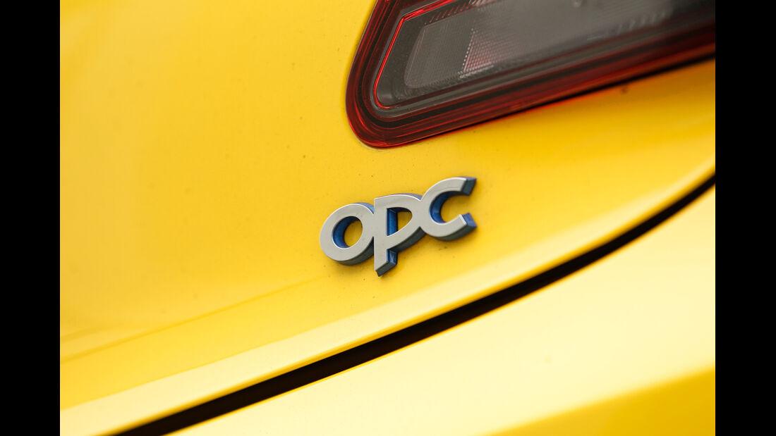 Opel Astra OPC, Typenbezeichnung, Schriftzug