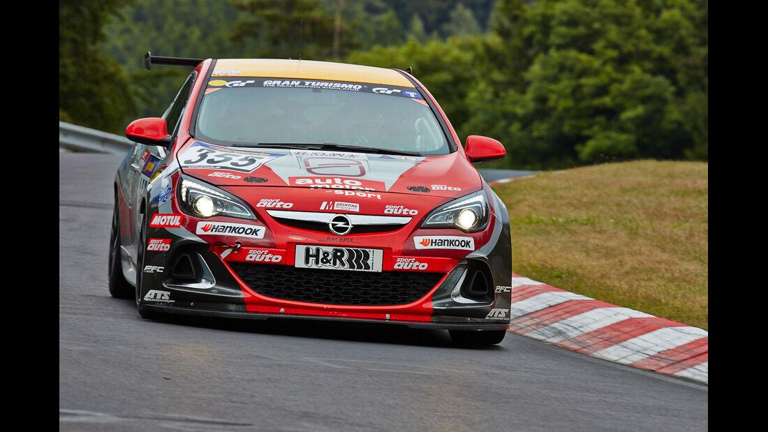 Opel Astra OPC - VLN Nürburgring - 5. Lauf - 5. Juli 2014