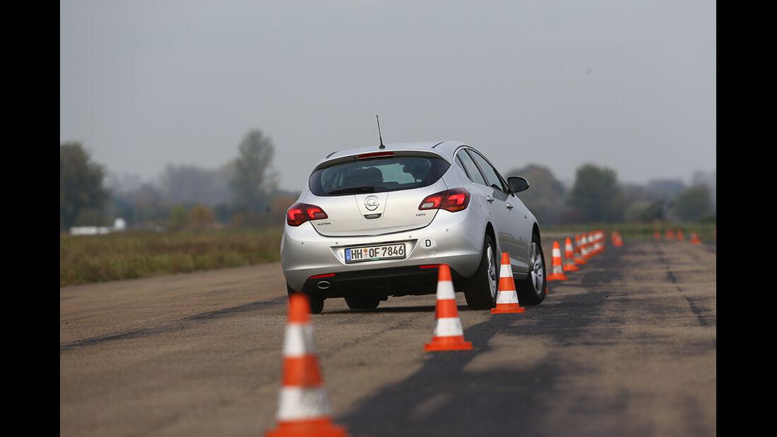 Opel Astra, Slalom