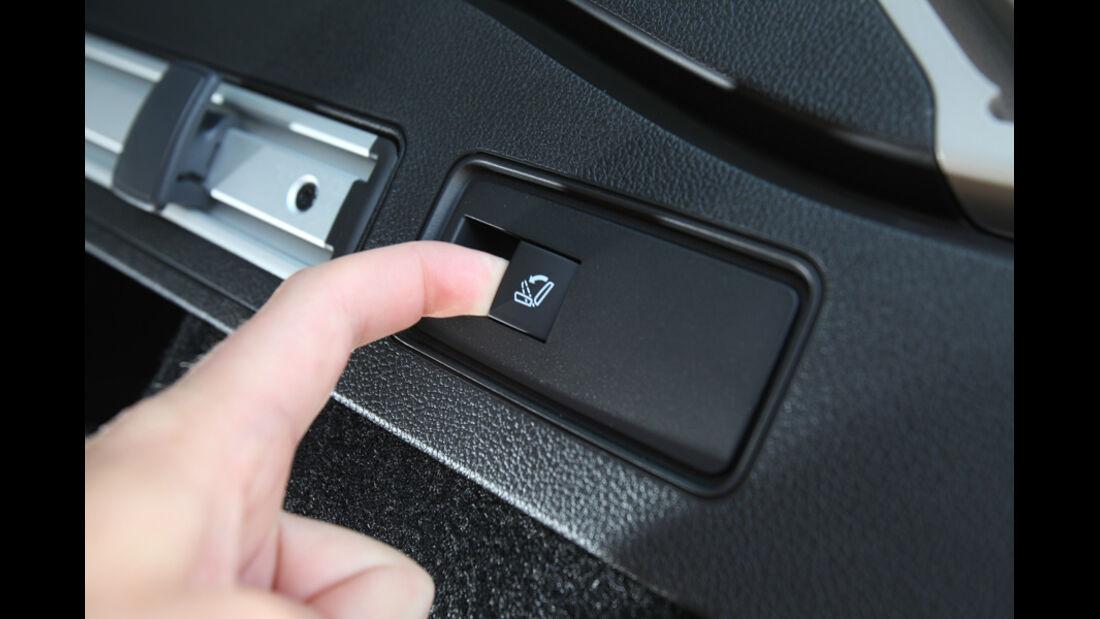 Opel Astra Sp.Tourer 1.4 Turbo Innovation, Schalter, Knopf, Sitzverstellung, Detail
