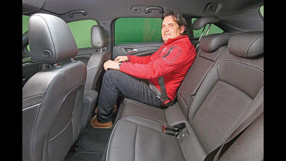 Opel Astra Sports Tourer 1.4 DI Turbo, Fondsitz