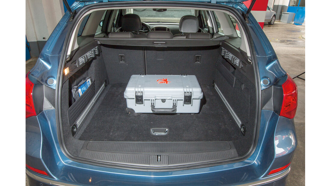 Opel Astra Sports Tourer 1.4 Turbo, Kofferraum
