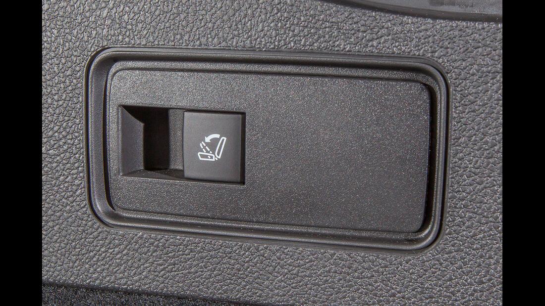 Opel Astra Sports Tourer 1.4 Turbo, Sitzverstellung