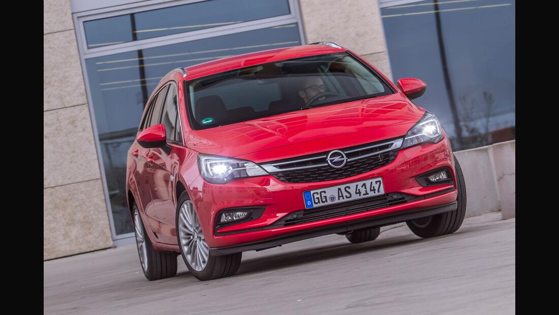 Opel Astra Sports Tourer 1.6 Biturbo CDTI, Frontansicht