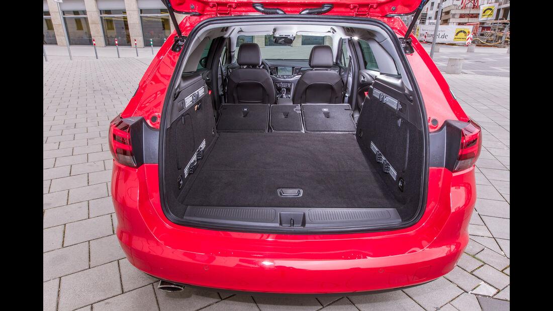 Opel Astra Sports Tourer 1.6 Biturbo CDTI, Kofferraum