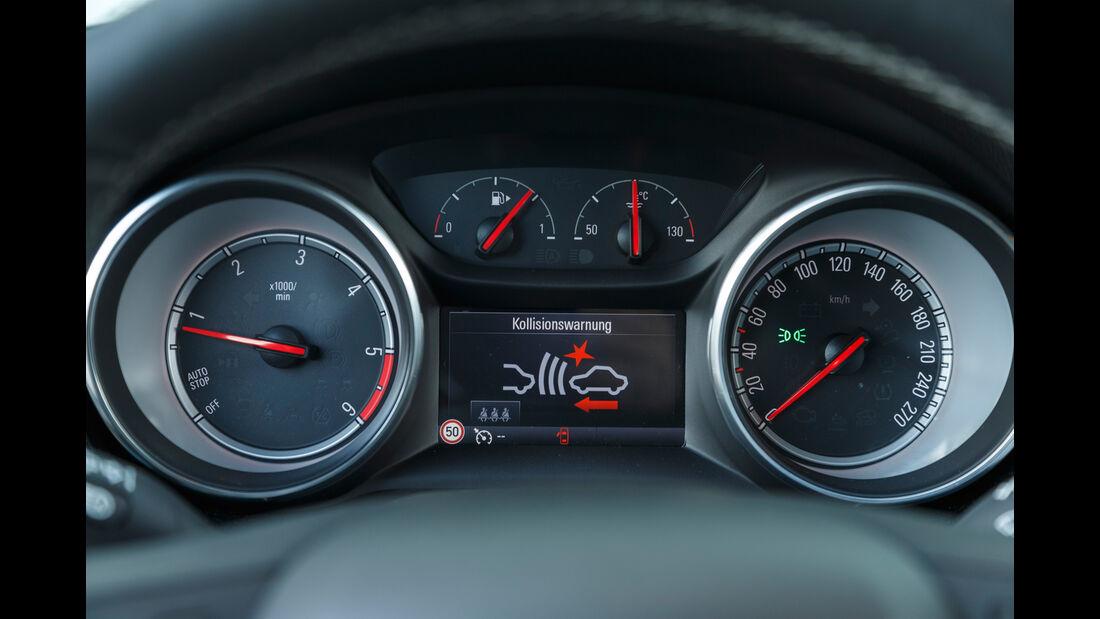 Opel Astra Sports Tourer 1.6 CDTI Ecoflex, Anzeigeinstrumente