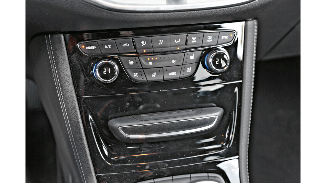 Opel Astra Sports Tourer 1.6 CDTI Ecoflex, Bedienelemente