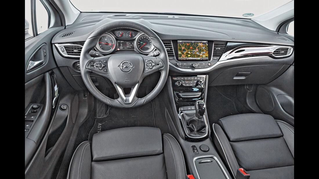 Opel Astra Sports Tourer 1.6 CDTI Ecoflex, Cockpit