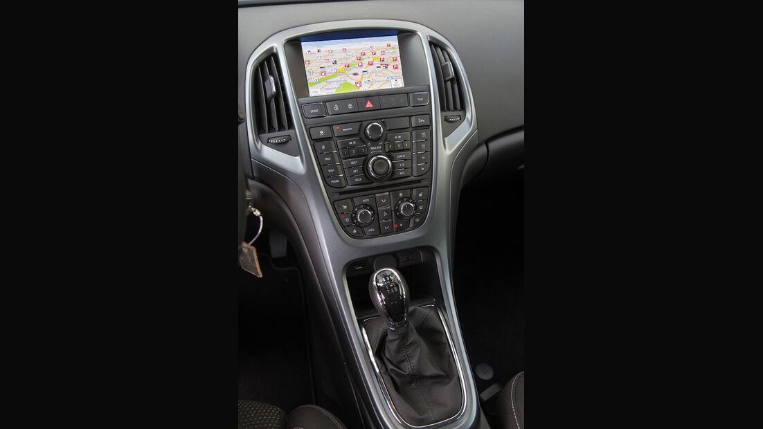 Opel Astra Sports Tourer 1.6 CDTI, Mittelkonsole