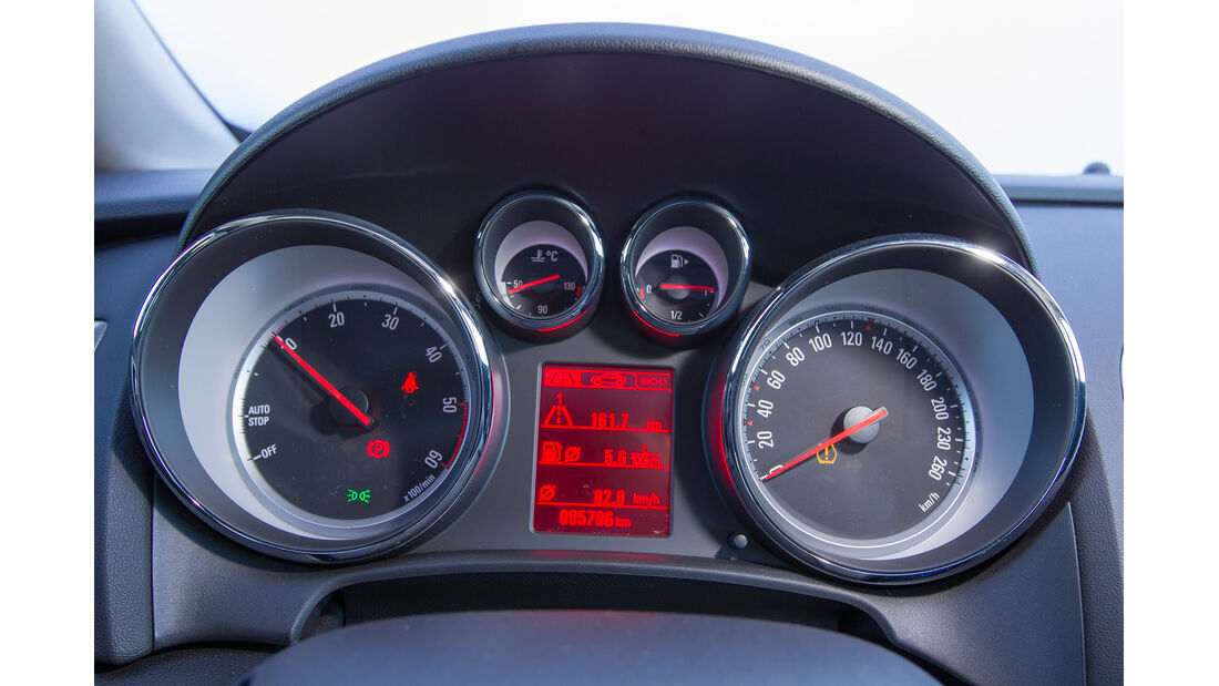 Opel Astra Sports Tourer 1.6 CDTI, Rundinstrumente