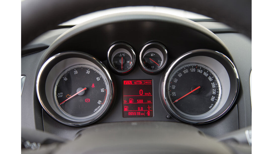 Opel Astra Sports Tourer 1.6 CDTI, Rundinstrumnete