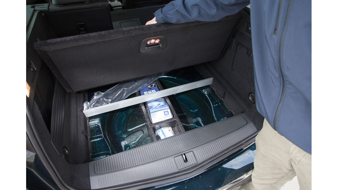 Opel Astra Sports Tourer 1.6 CDTI, Stauraum