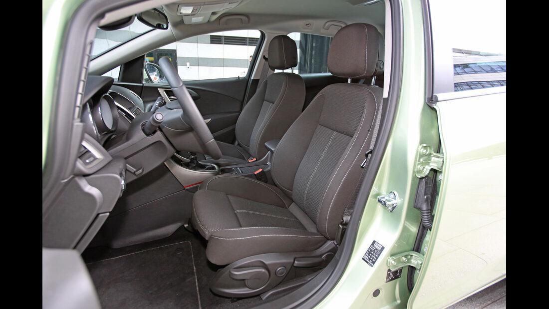 Opel Astra Sports Tourer 1.7 CDTi Ecoflex Edition, Fahrersitz
