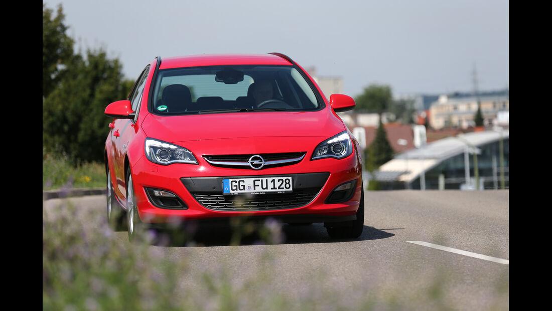 Opel Astra Sports Tourer 2.0 CDTi ecoflex Edition, Frontansicht