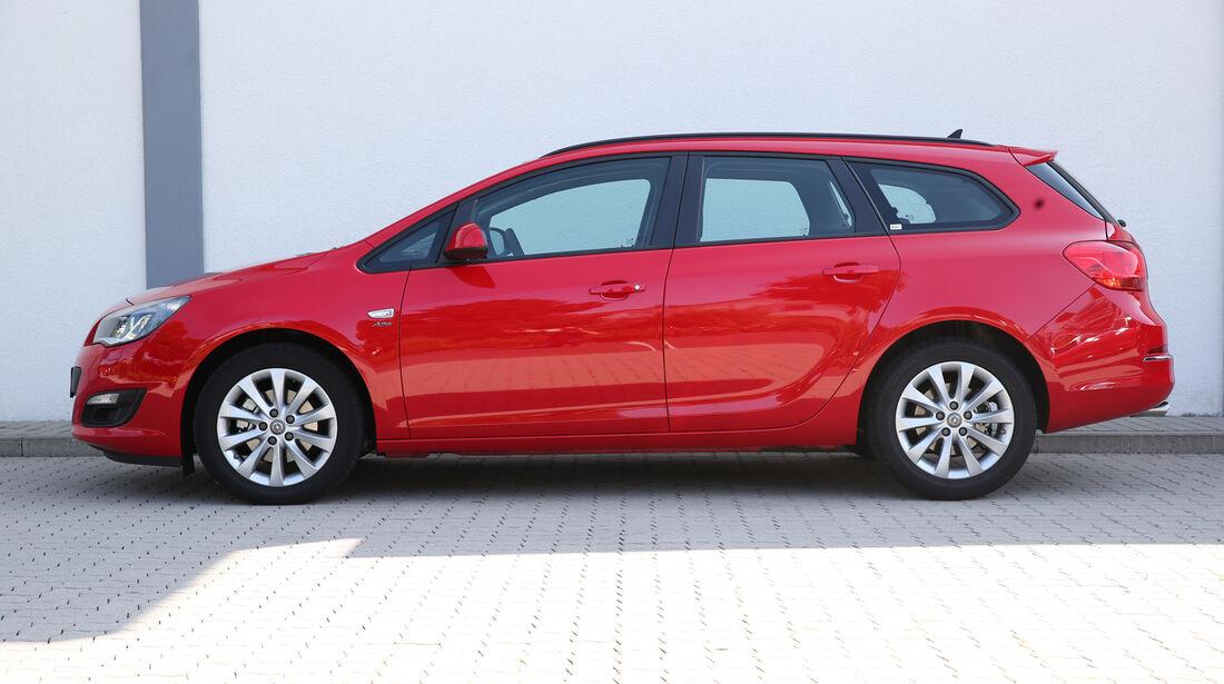 Opel Astra Sports Tourer 2.0 CDTi ecoflex Edition, Seitenansicht