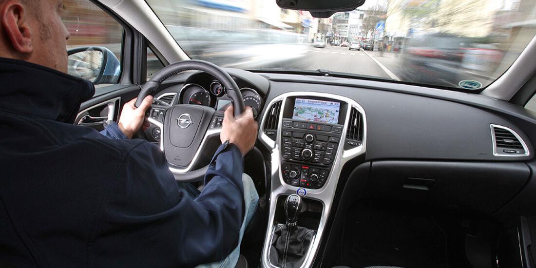 Opel Astra Sports Tourer Cockpit