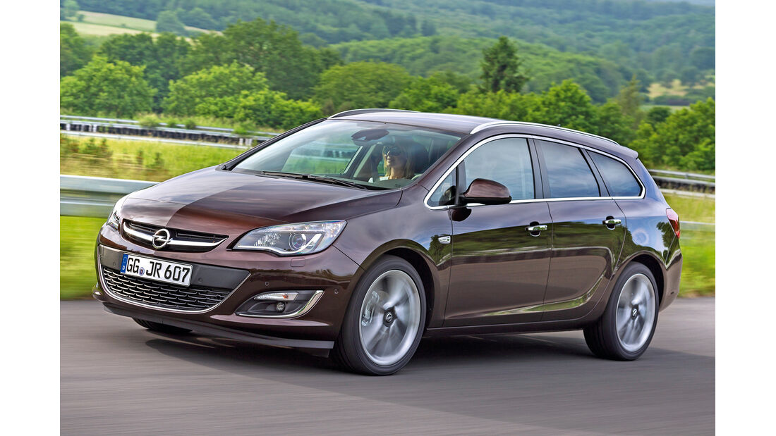 Opel Astra Sports Tourer, Frontansicht