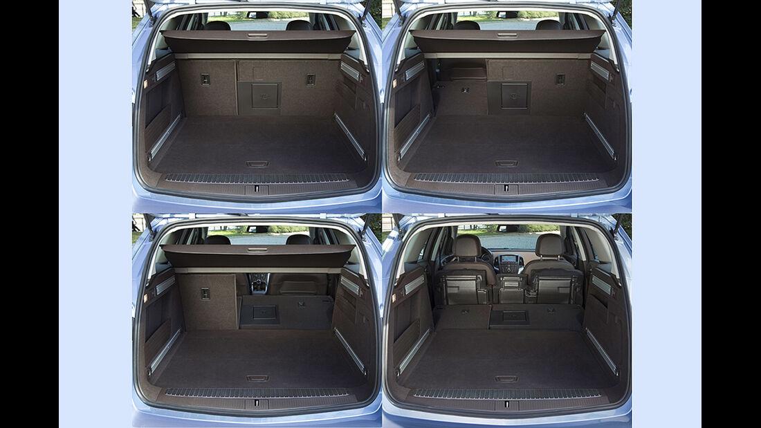 Opel Astra Sports Tourer, Kofferraum