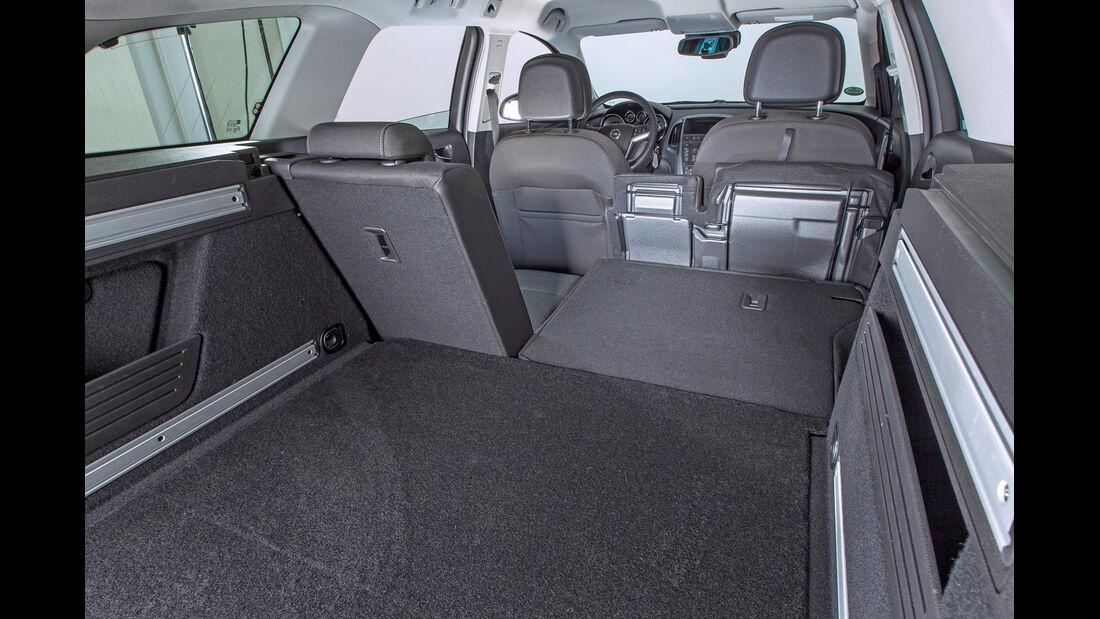 Opel Astra Sports Tourer, Ladefläche
