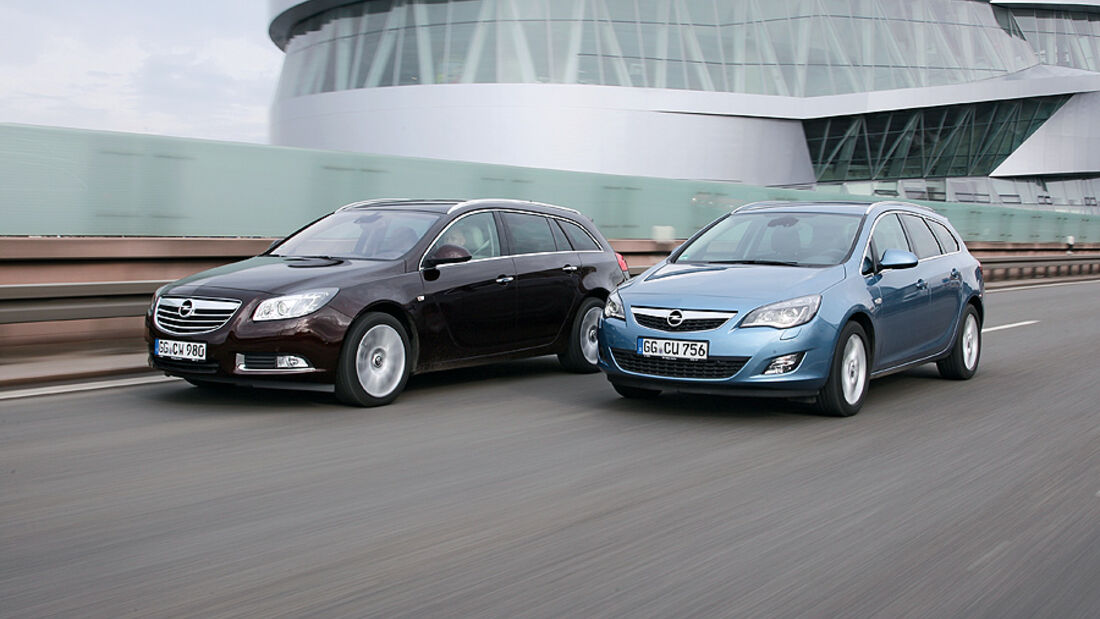 Opel Astra Sports Tourer, Opel Insignia Sports Tourer