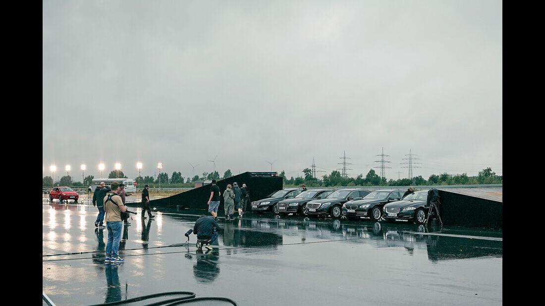 Opel Astra Sprung, Stunt