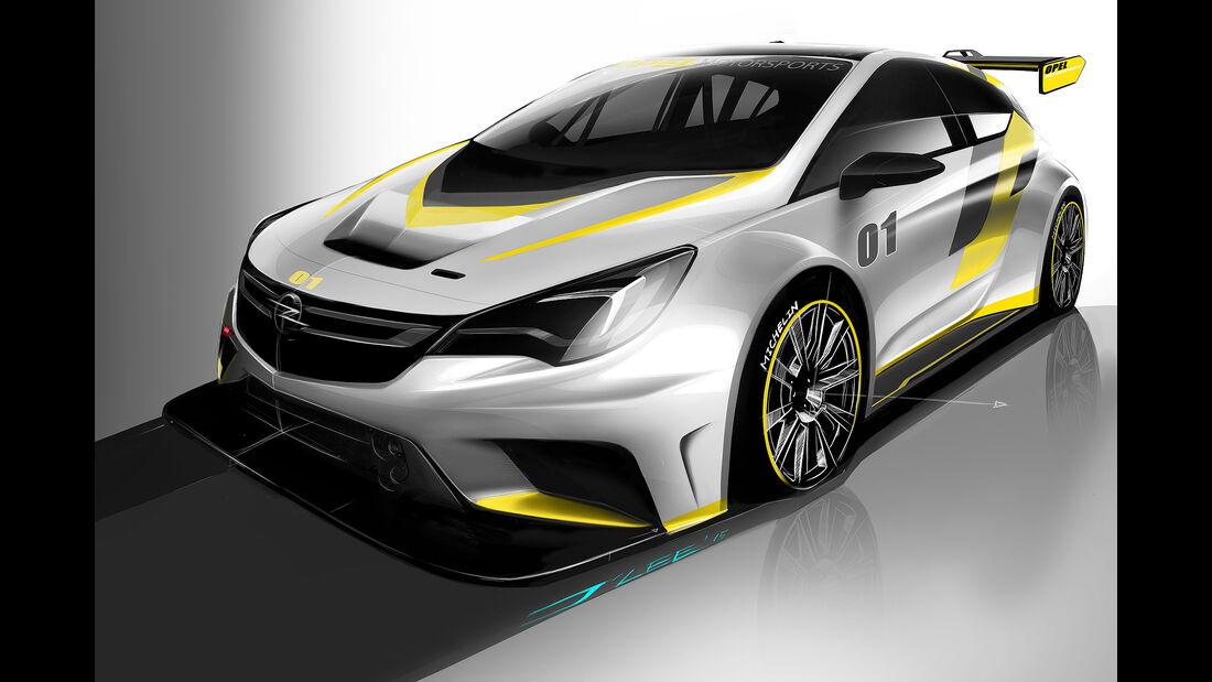 Opel Astra TCR 2015, Tourenwagen