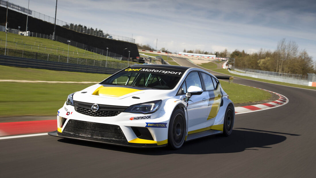Opel Astra TCR 2016, Tracktest, Tourenwagen, 04/2016