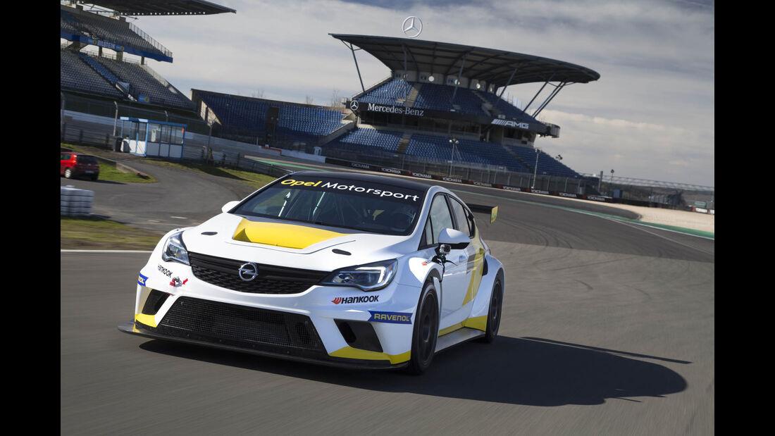 Opel Astra TCR 2016, Tracktest, Tourenwagen, 04/2016