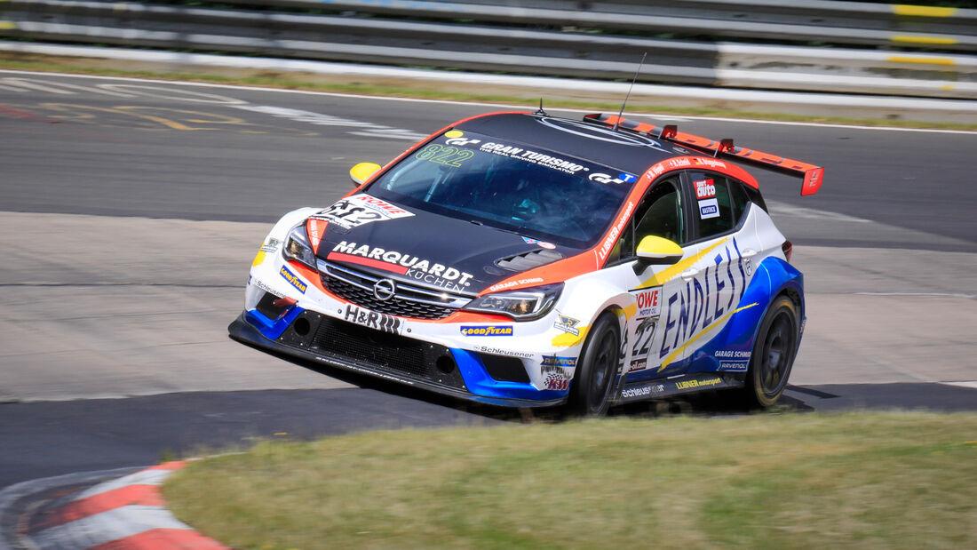 Opel Astra TCR - Startnummer #822 - LUBNER Motorsport - TCR Am - NLS 2020 - Langstreckenmeisterschaft - Nürburgring - Nordschleife