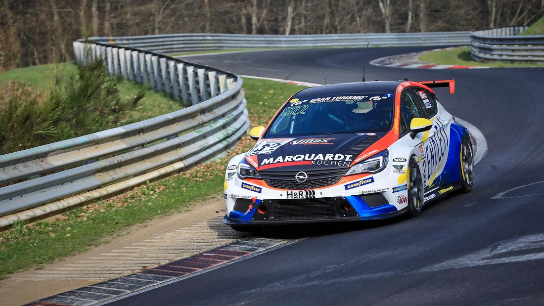 Opel Astra TCR - Startnummer #822 - LUBNER Motorsport - TCR Am - NLS 2021 - Langstreckenmeisterschaft - Nürburgring - Nordschleife